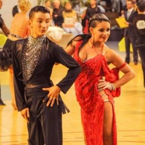 Cédric et Mélinda - Couple de danse en compétition du studio rythm'n Dance