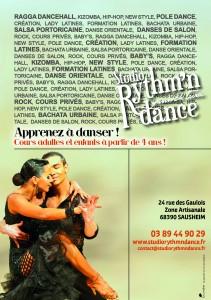 Apprendre à danser - Studio rythm'n dance à Sausheim